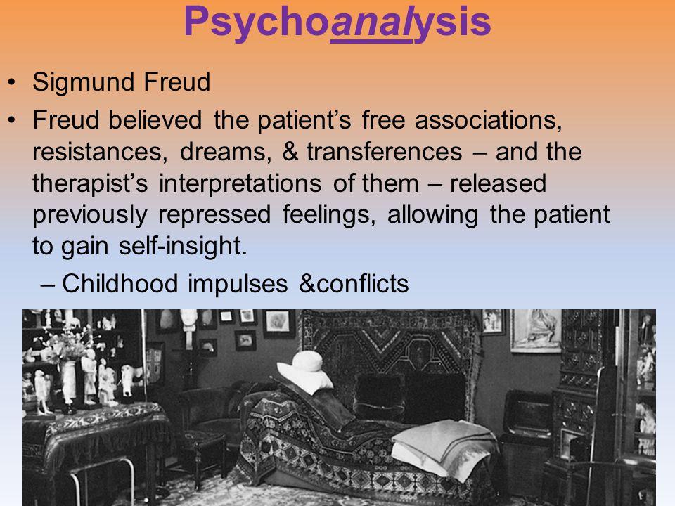 Psychoanalysis Sigmund Freud