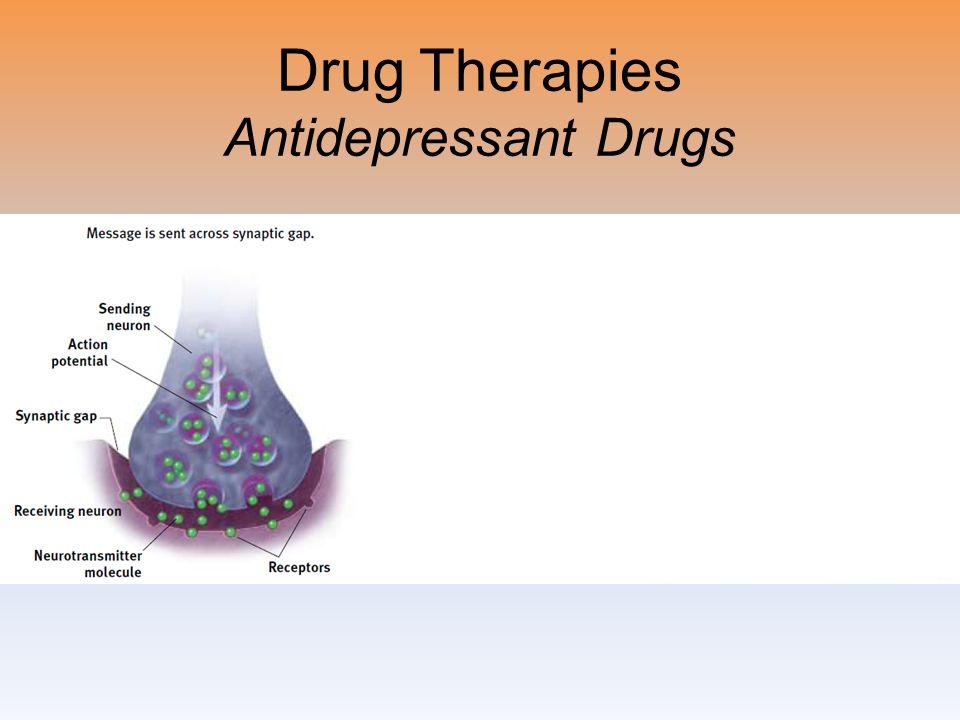 Drug Therapies Antidepressant Drugs