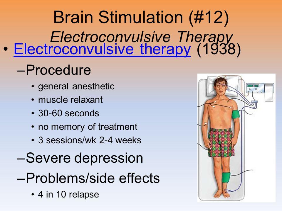 Brain Stimulation (#12) Electroconvulsive Therapy