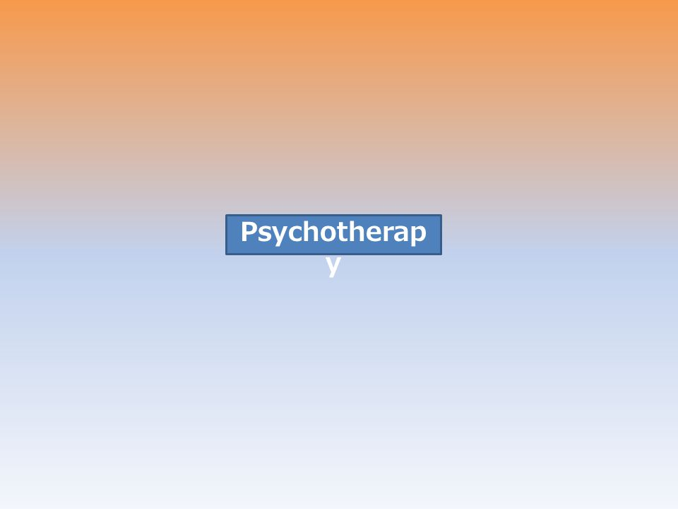 Psychotherapy Treatment