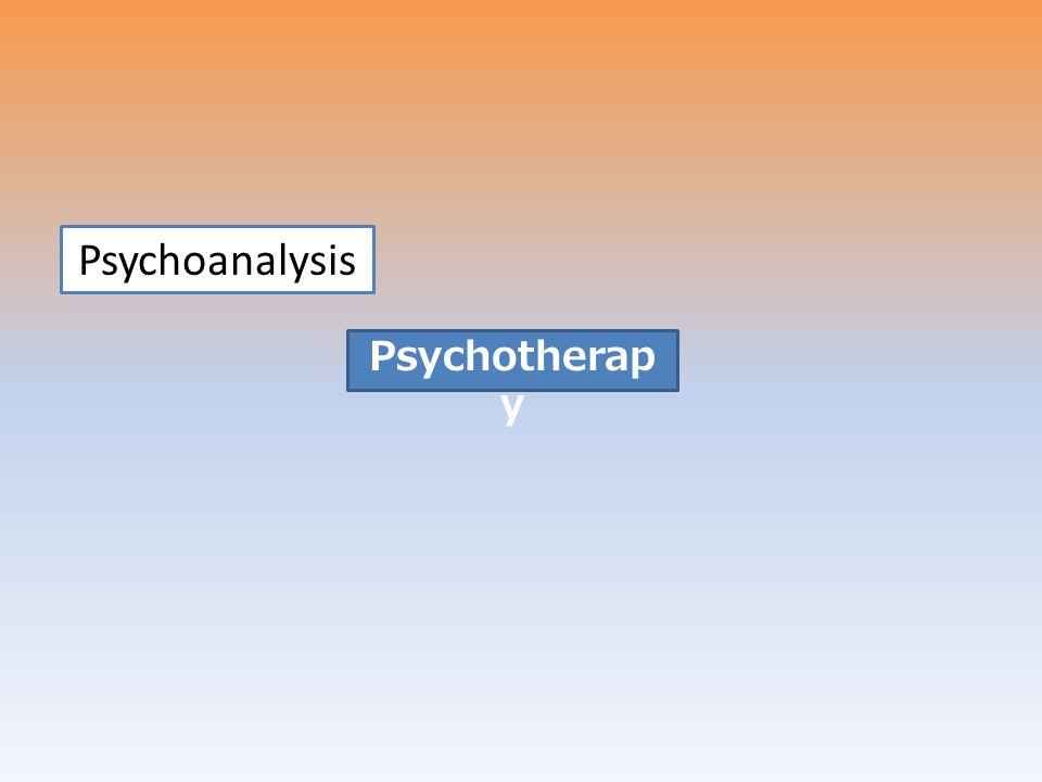 Psychoanalysis Psychotherapy Treatment