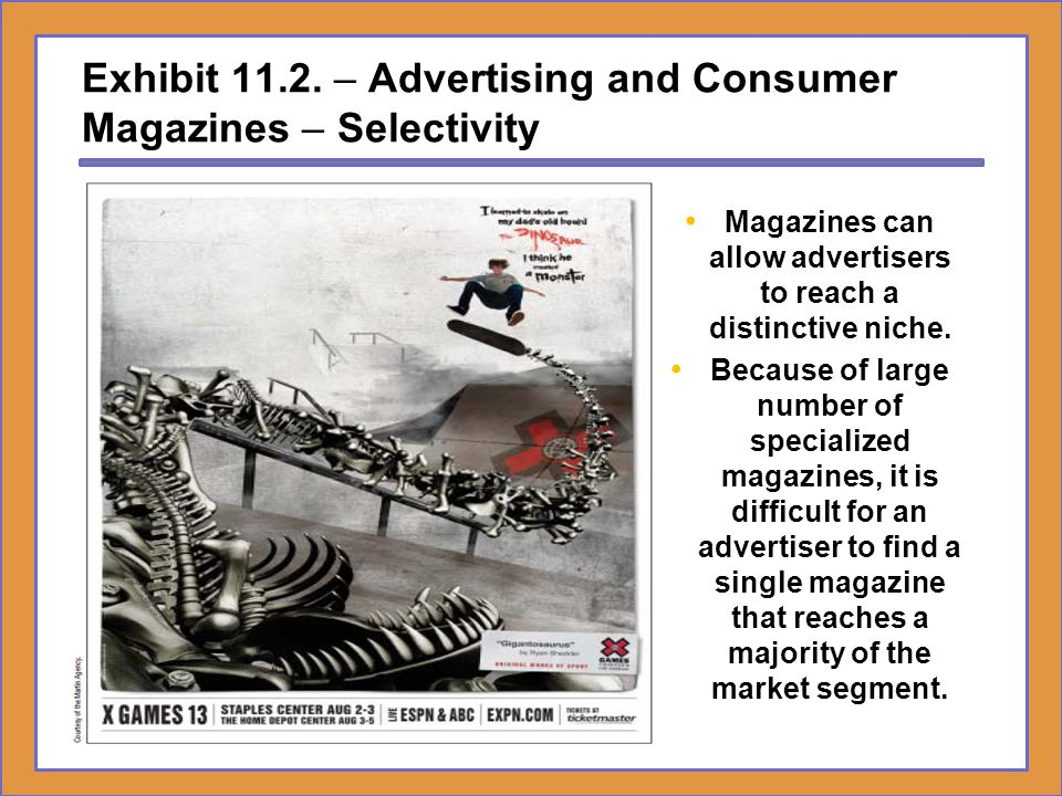 Exhibit 11.2. – Advertising and Consumer Magazines – Selectivity