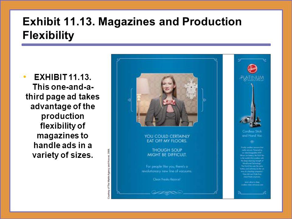Exhibit 11.13. Magazines and Production Flexibility