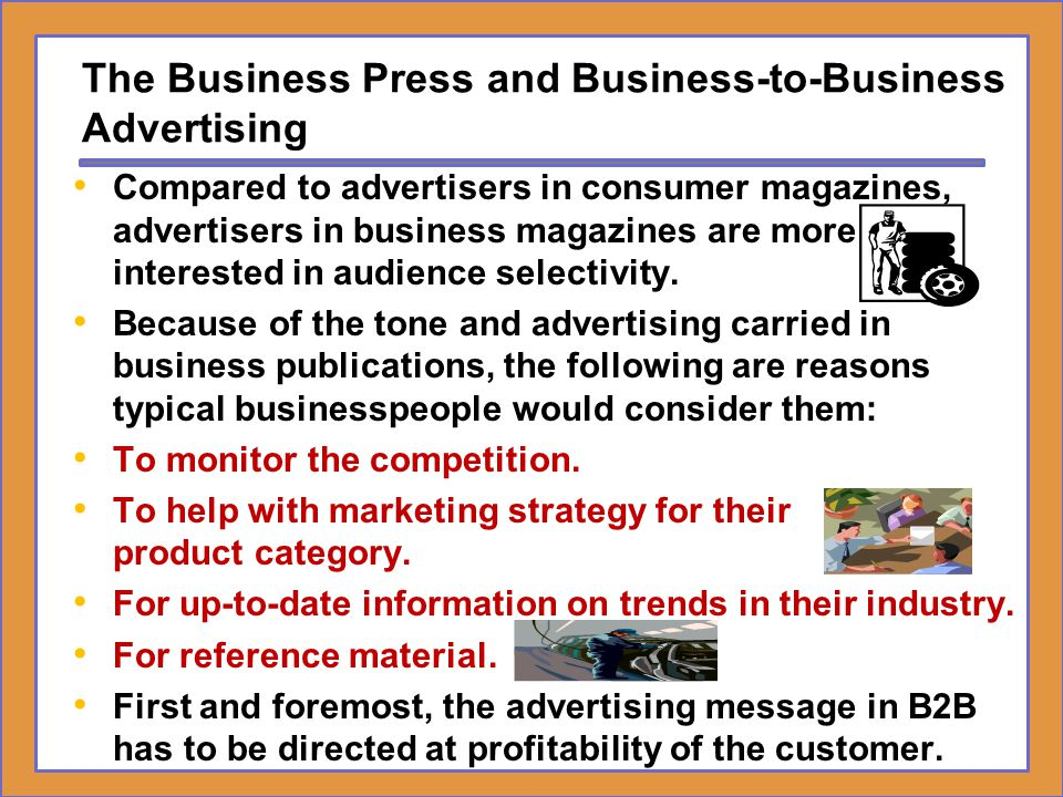 The Business Press and Business-to-Business Advertising
