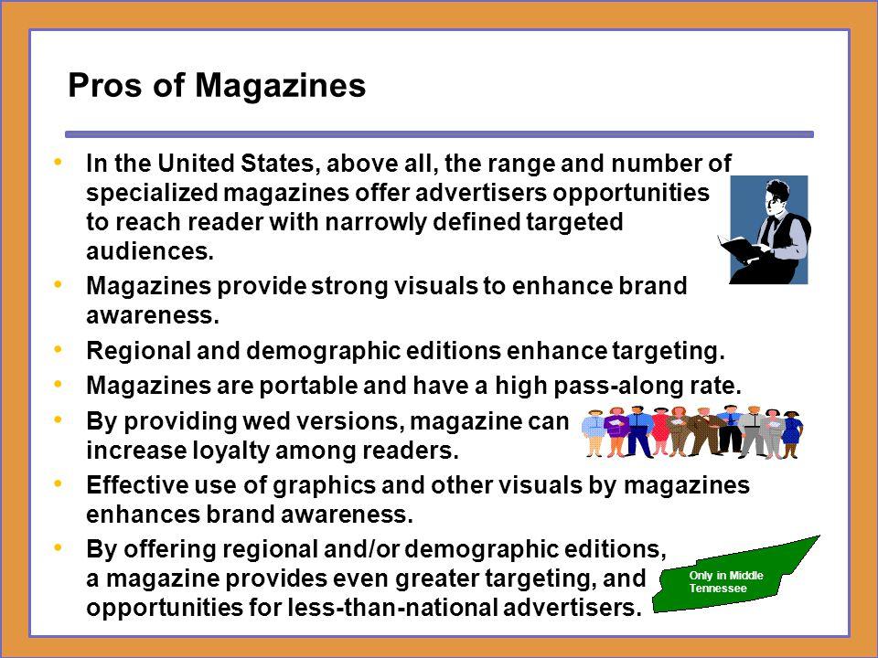 Pros of Magazines