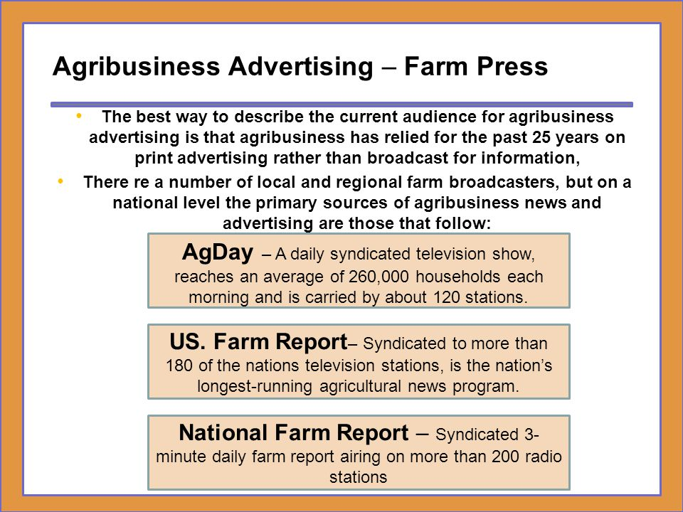 Agribusiness Advertising – Farm Press