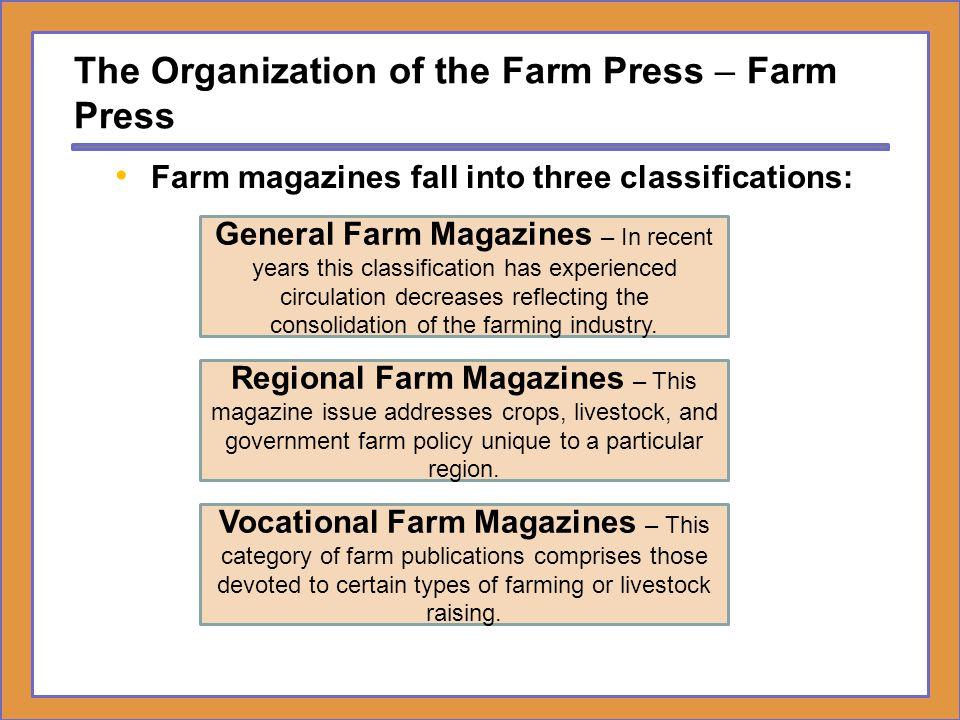 The Organization of the Farm Press – Farm Press