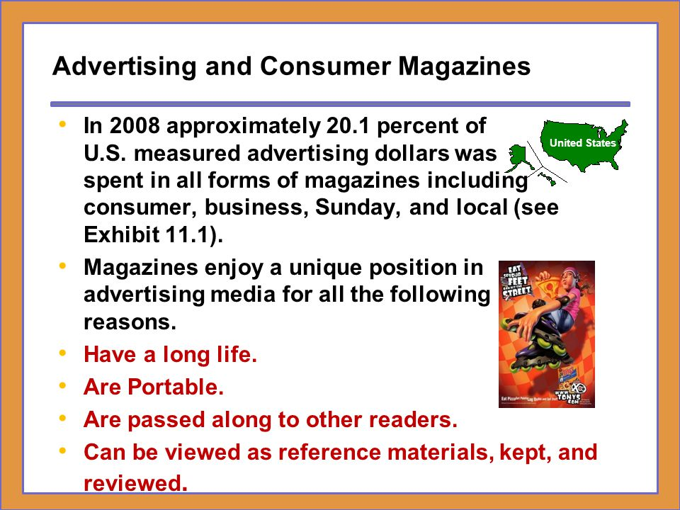 Advertising and Consumer Magazines