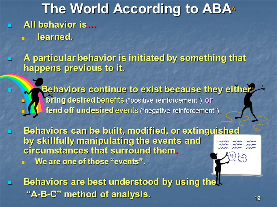 The World According to ABA^