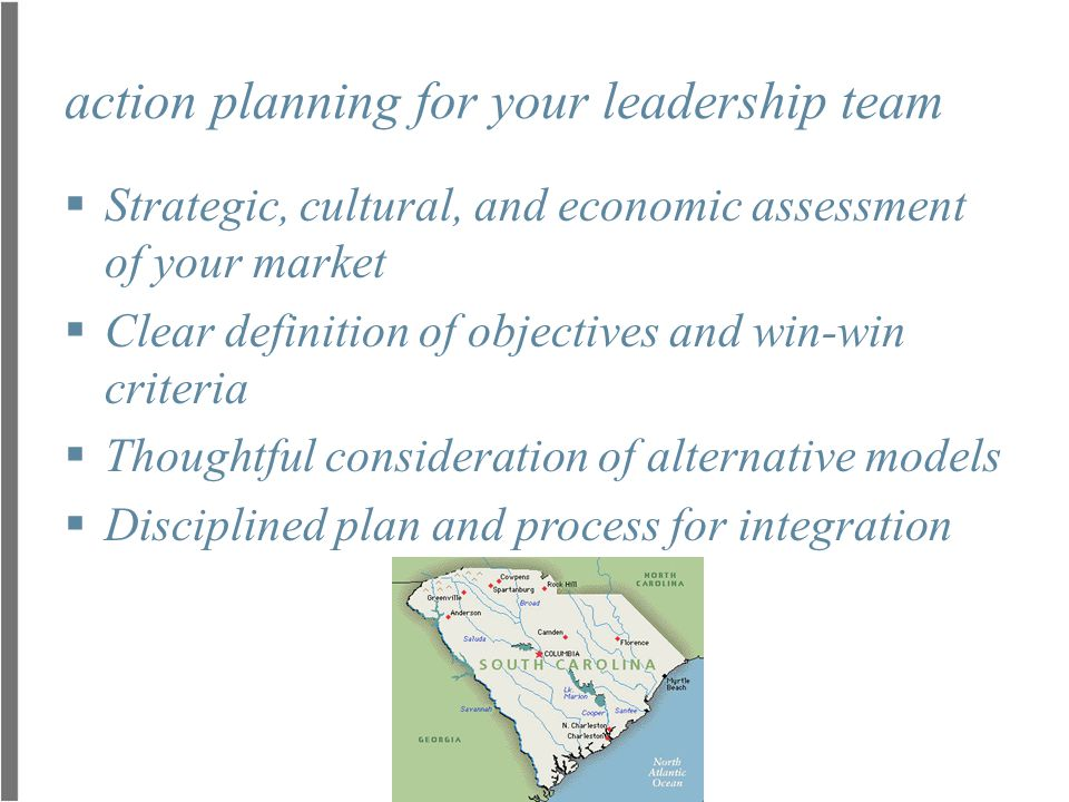 action planning for your leadership team
