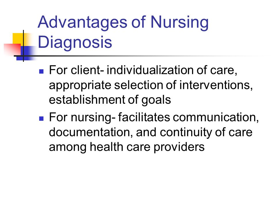 Advantages of Nursing Diagnosis