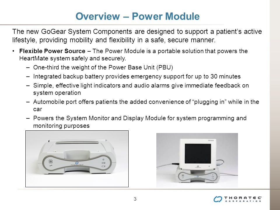 Overview – Power Module
