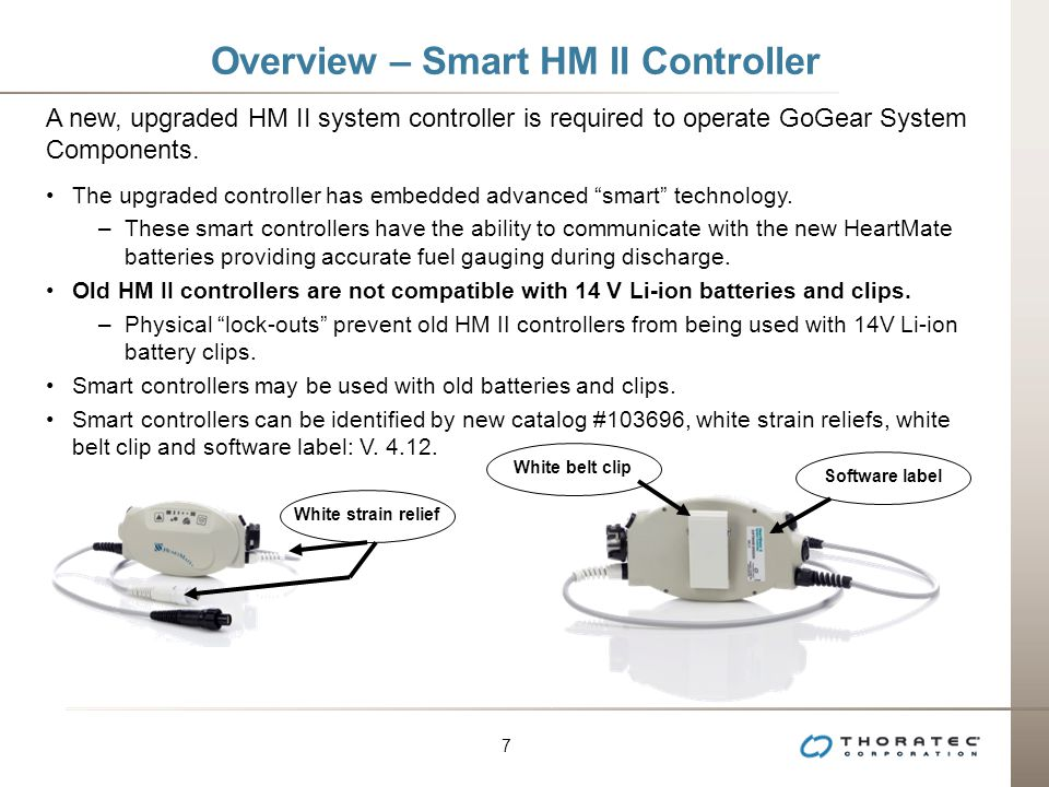 Overview – Smart HM II Controller