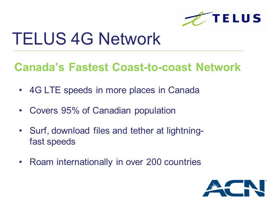Canada's Fastest Coast-to-coast Network