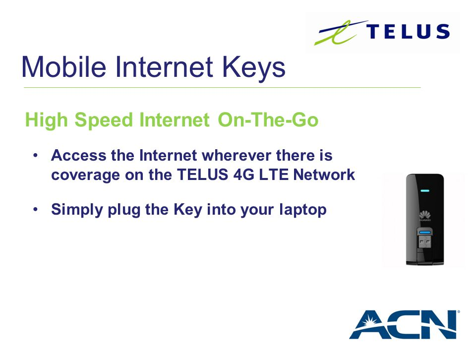 ACN / TELUS Wireless Your Canadian Wireless Headquarters ...