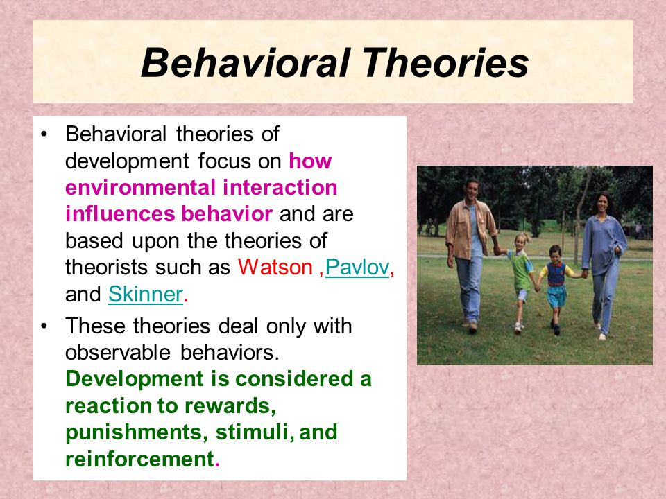 Behavioral Theories