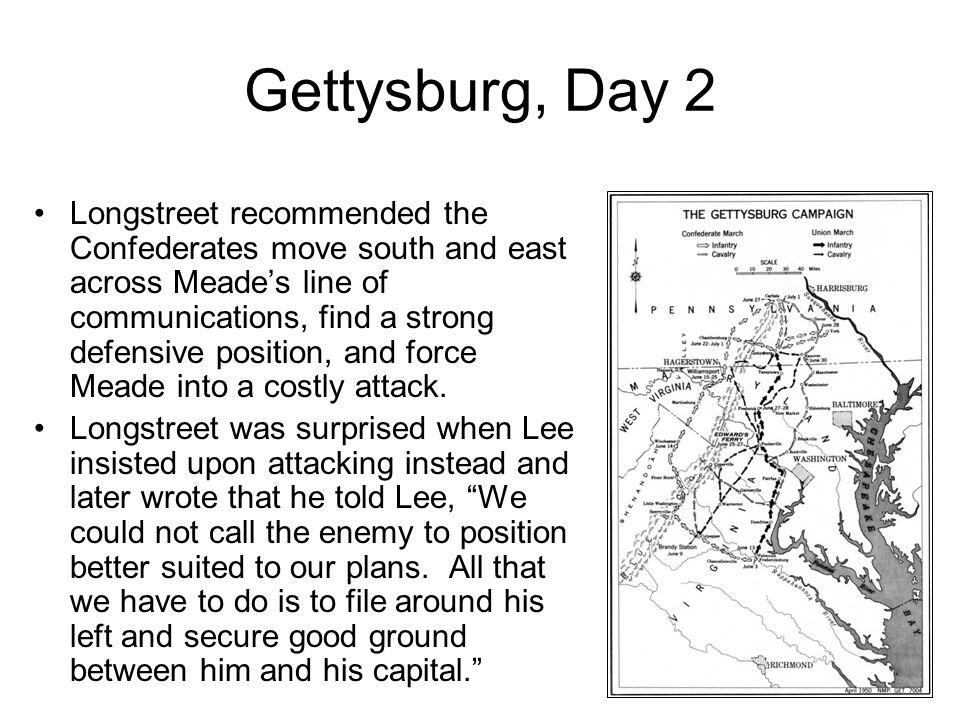 Gettysburg, Day 2