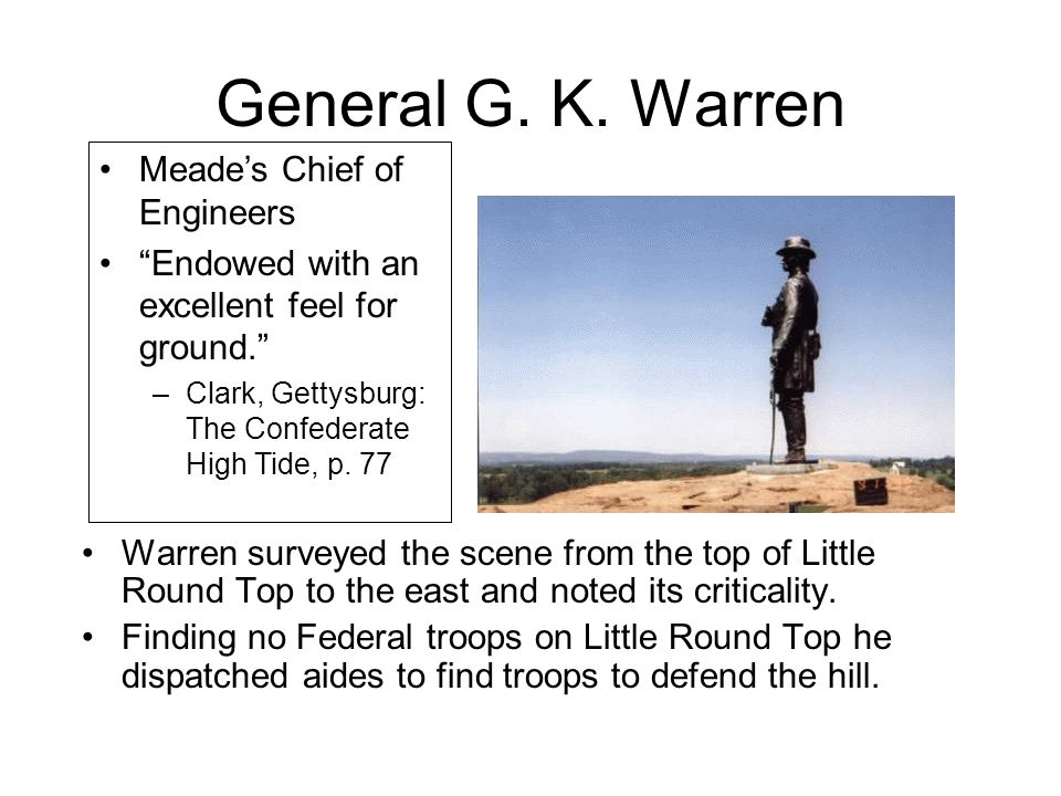 General G. K. Warren Meade's Chief of Engineers