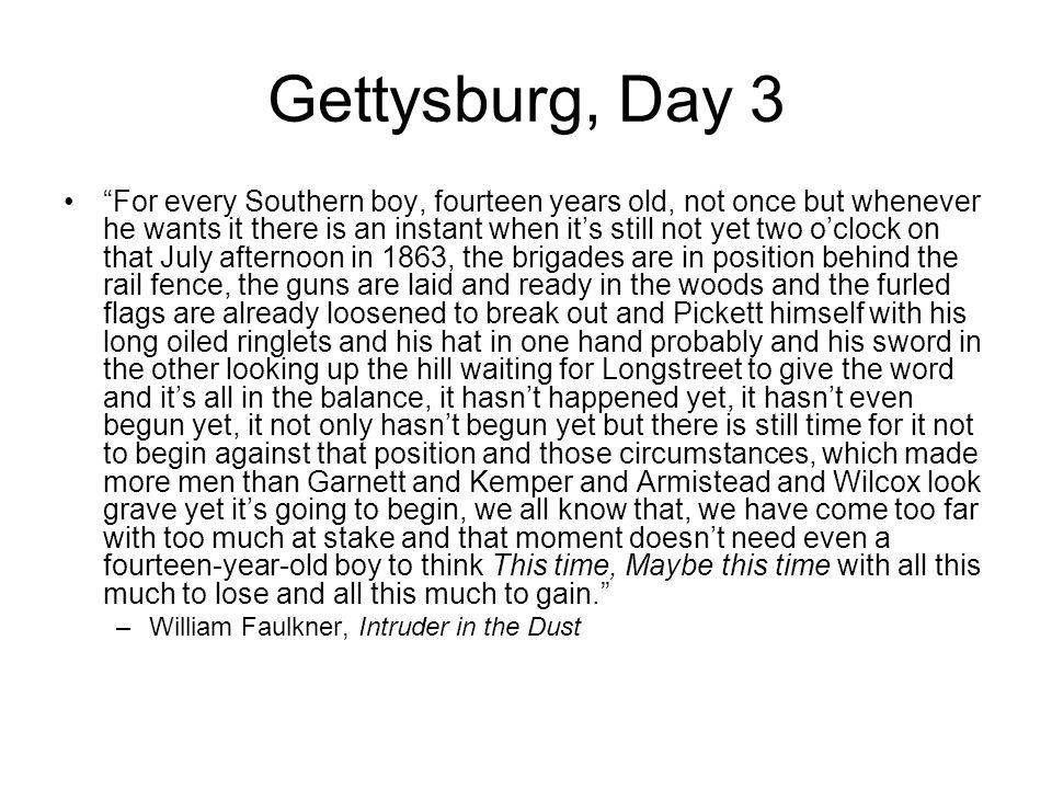 Gettysburg, Day 3
