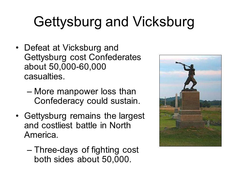 Gettysburg and Vicksburg