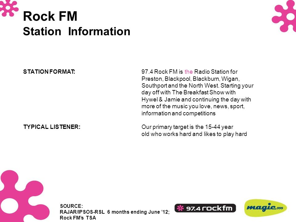 Rock FM Station Information
