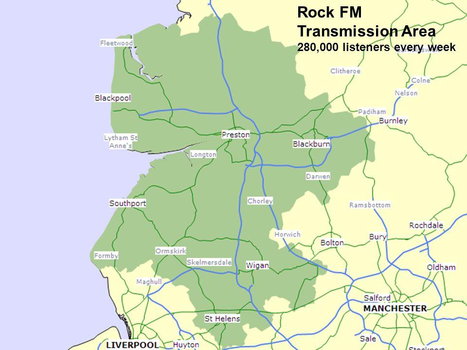 Station Information Rock FM Transmission Area