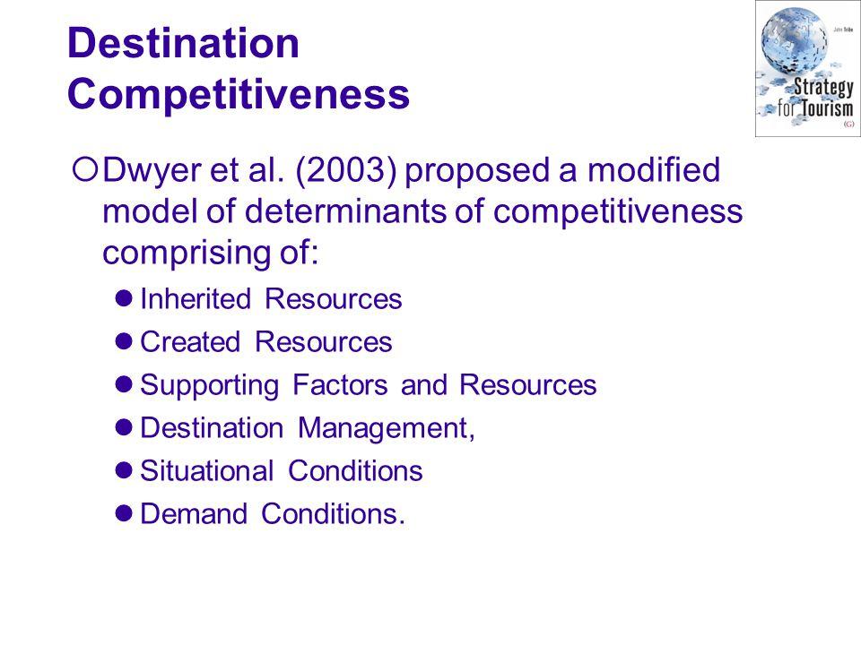 Destination Competitiveness
