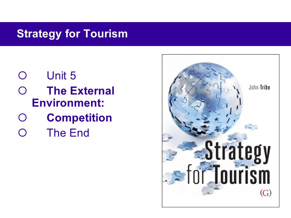 Unit 5 The External Environment: Competition The End