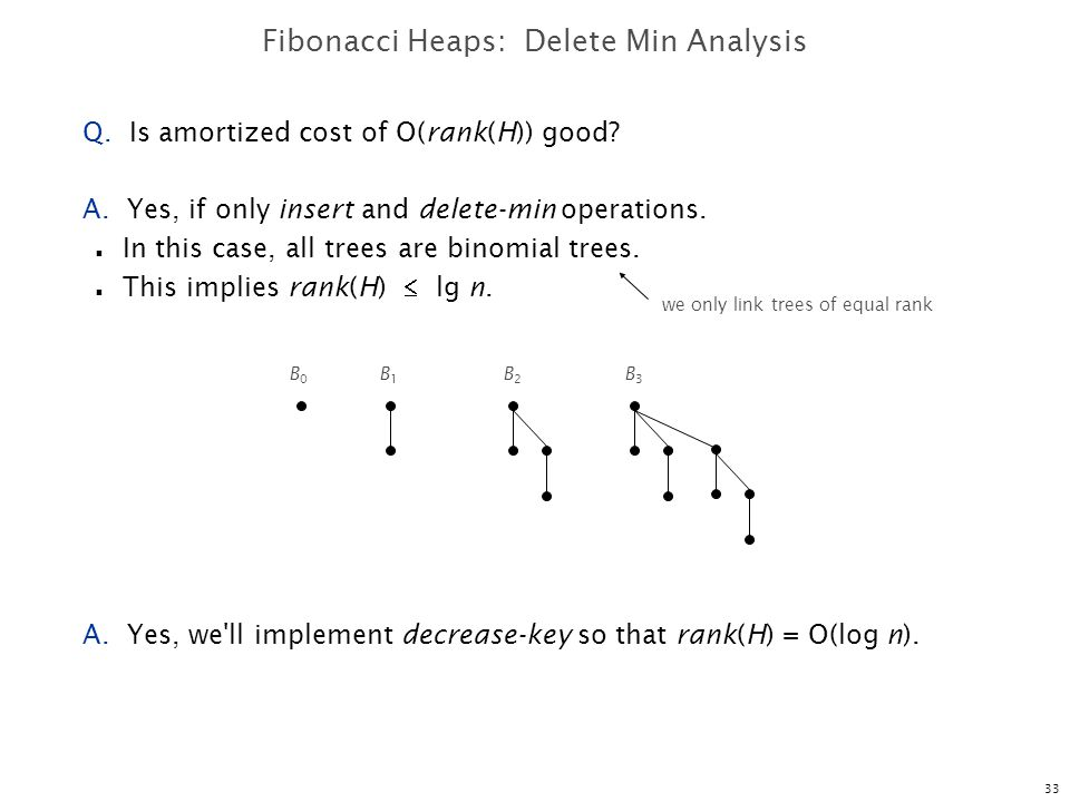 Fibonacci Heaps: Delete Min Analysis
