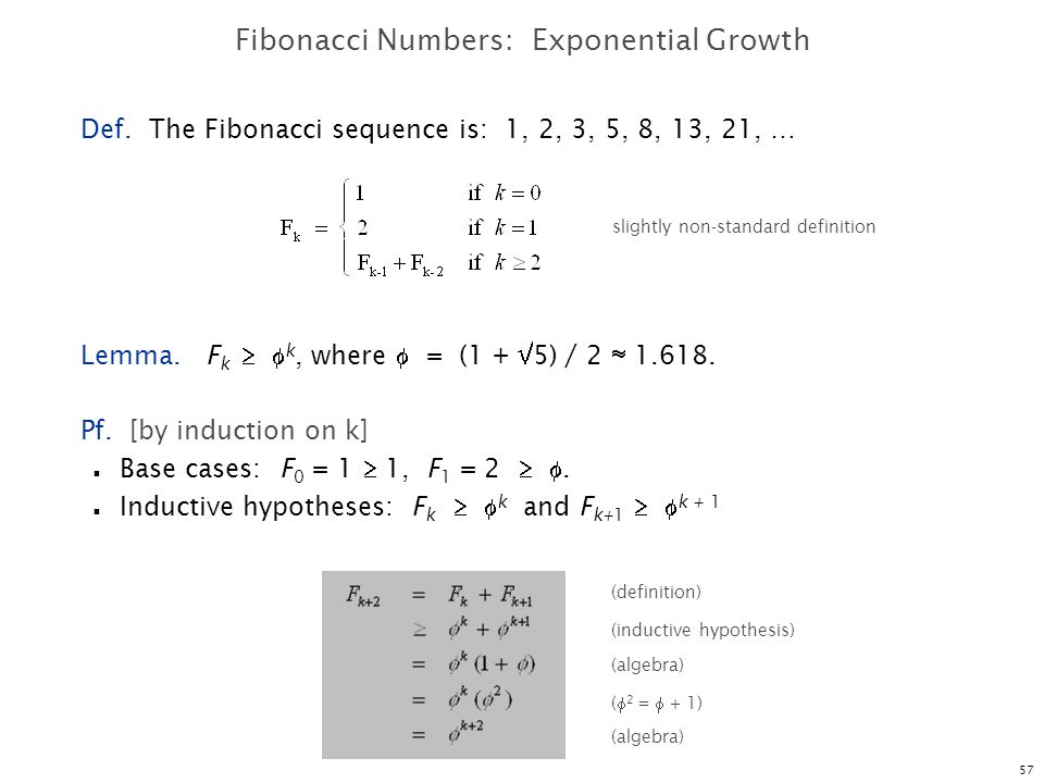 Fibonacci Numbers: Exponential Growth