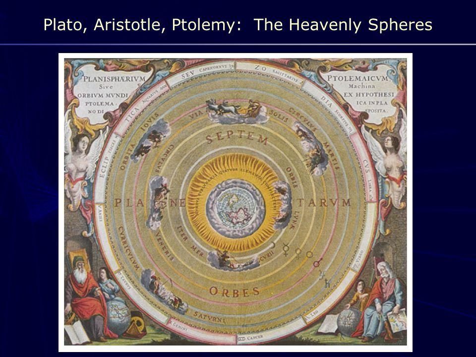 Plato, Aristotle, Ptolemy: The Heavenly Spheres