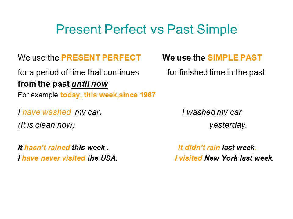 Past simple vs Present perfect 2 ESL Lounge Student