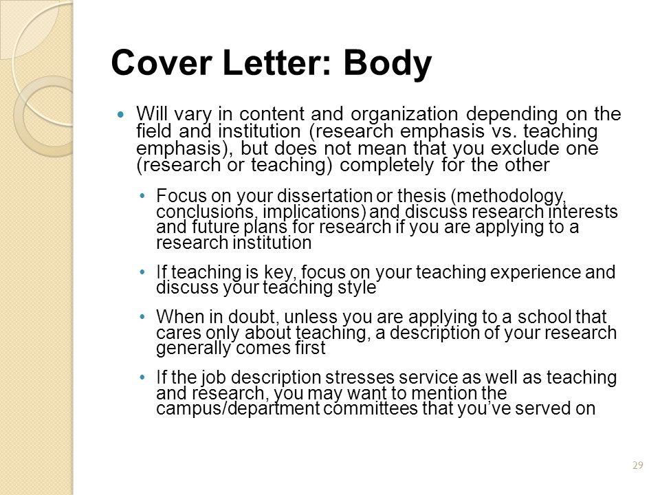 29 Cover Letter: ...  What Does Cover Letter Mean