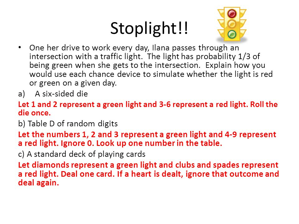 Stoplight!!