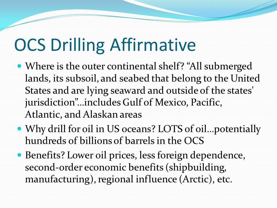 OCS Drilling Affirmative