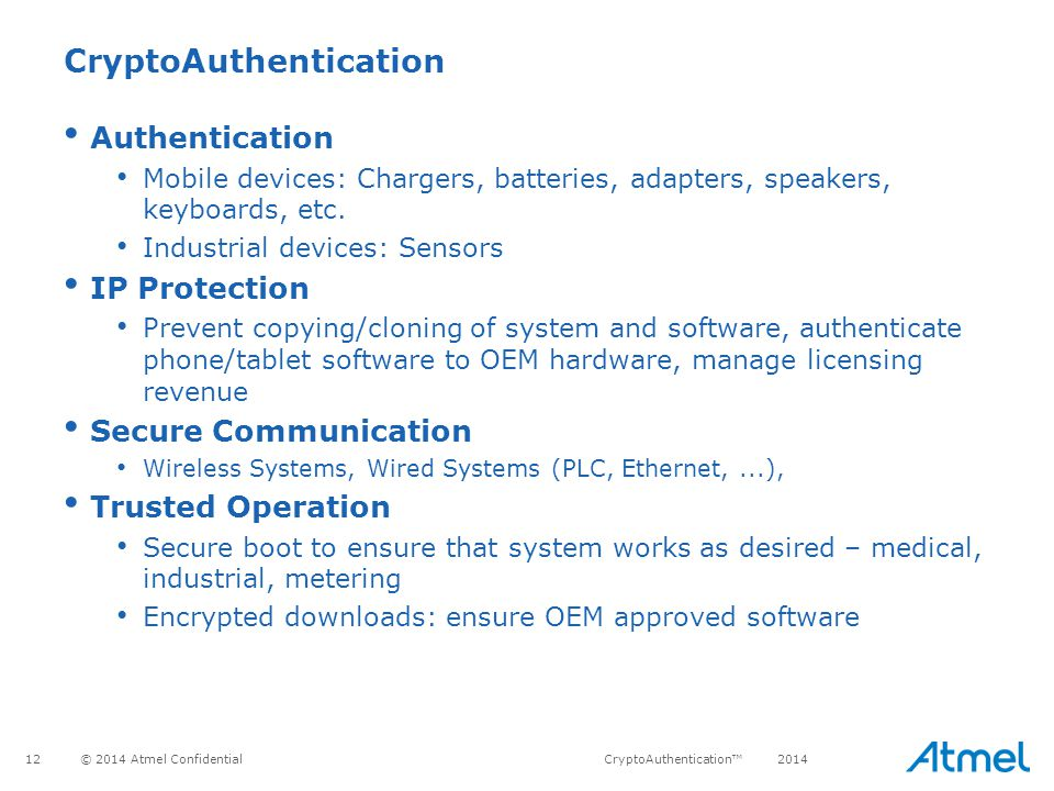 CryptoAuthentication