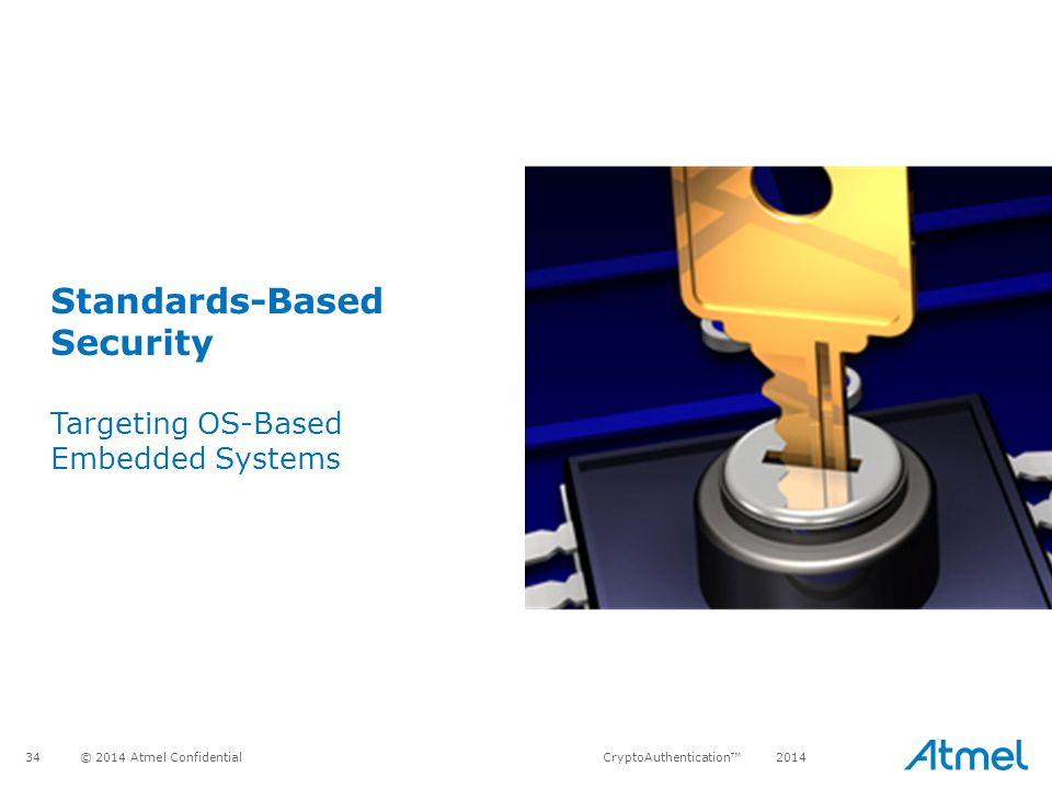 Standards-Based Security Targeting OS-Based Embedded Systems