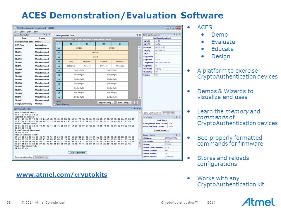 ACES Demonstration/Evaluation Software