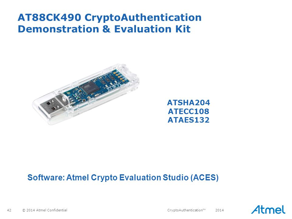 AT88CK490 CryptoAuthentication Demonstration & Evaluation Kit