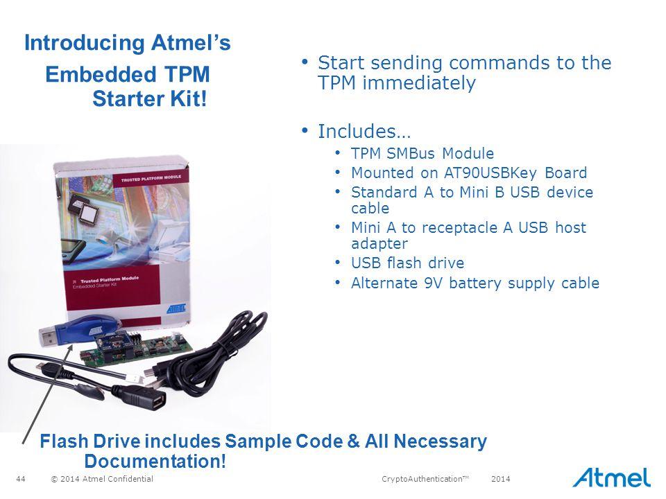 Embedded TPM Starter Kit!