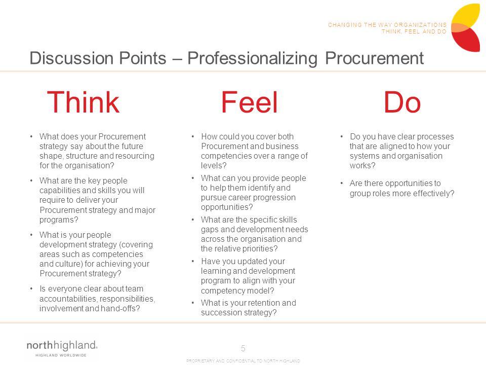 Discussion Points – Professionalizing Procurement
