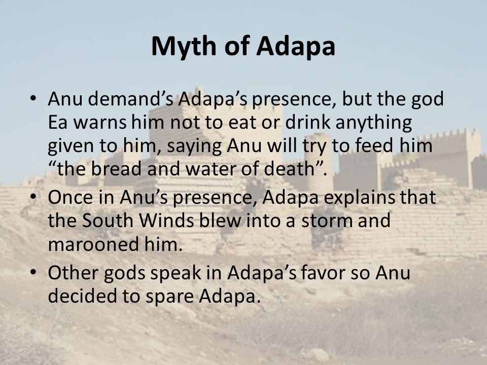 Myth of Adapa