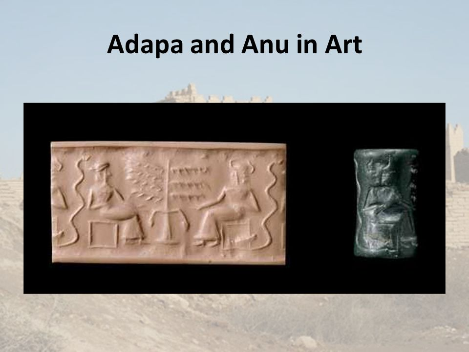 Adapa and Anu in Art