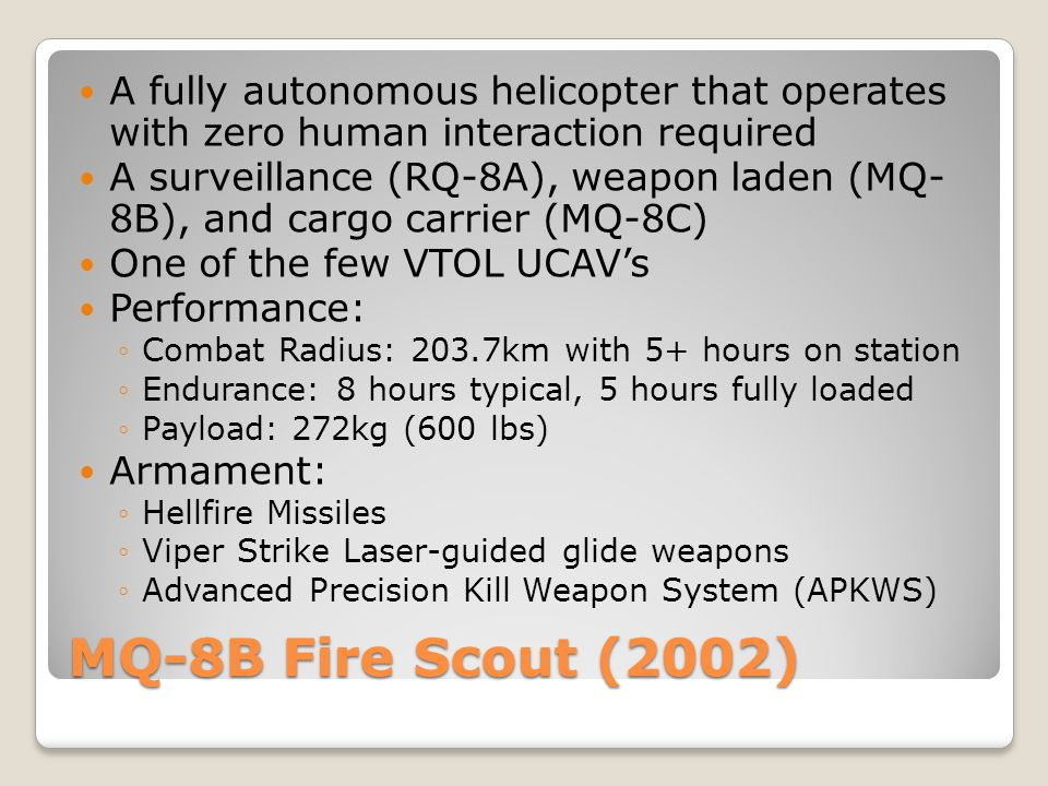 A fully autonomous helicopter that operates with zero human interaction required