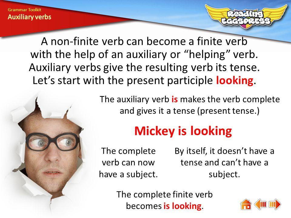 Grammar Toolkit Auxiliary verbs.