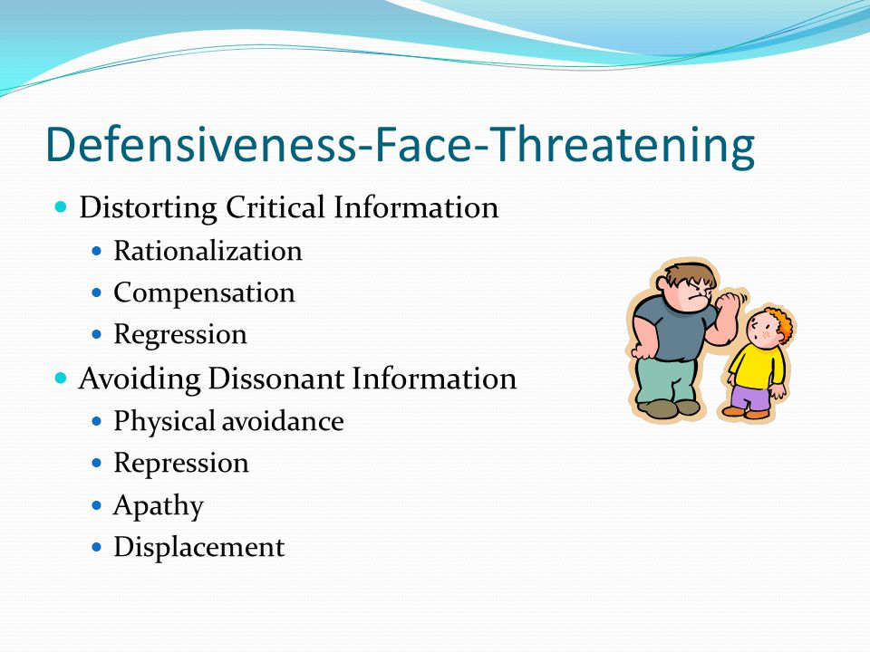 Defensiveness-Face-Threatening