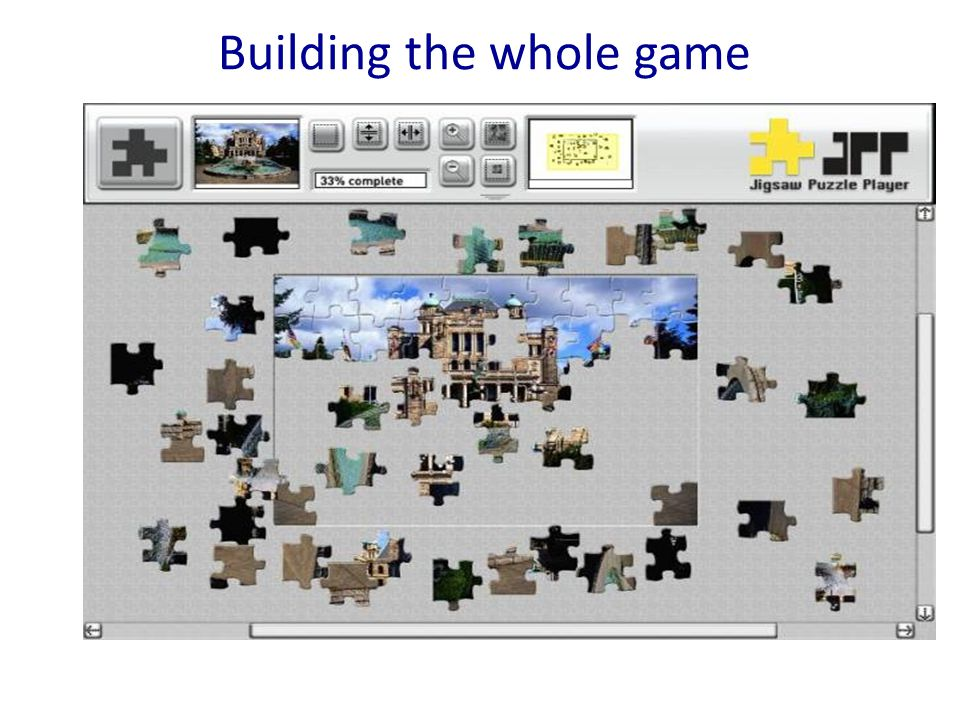 Building the whole game
