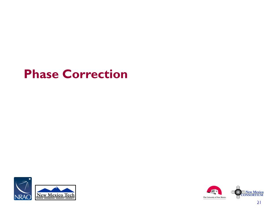 Phase Correction