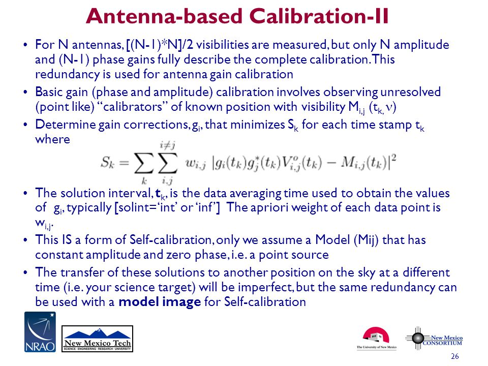 Antenna-based Calibration-II