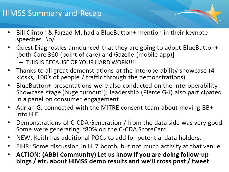 HIMSS Summary and Recap